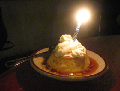 Moreno's - Birthday Flan