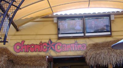 Chronic Cantina - More TVs