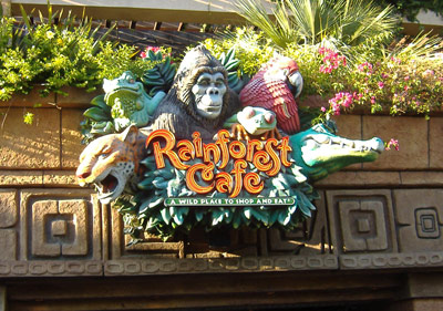 Rainforest Cafe -